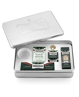 Silver Shave Gift Box