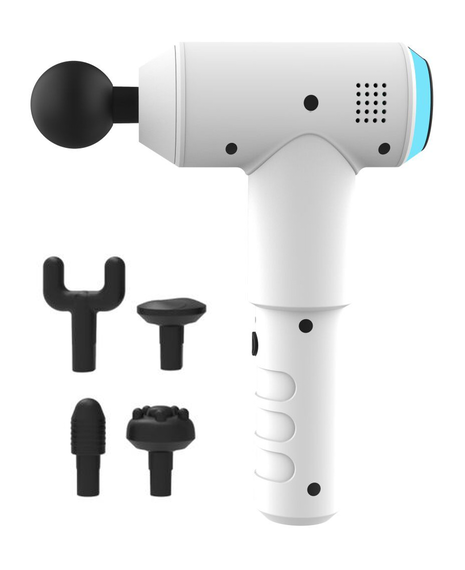 Handheld Physio Massager - White