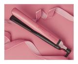 limited edition platinum+ hair straightener in rose pink