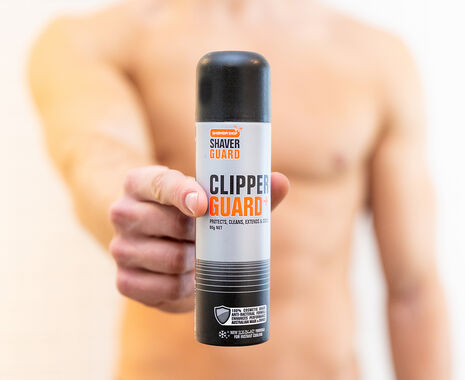 Clipper Guard - Sanitise and lubricate your Clippers