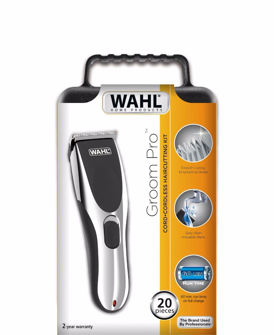 Wahl | Cordless Groom Pro Hair Clipper | Shaver Shop