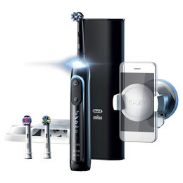 Genius 9000 Black Electric Toothbrush incl. 3 Brush Head Refills