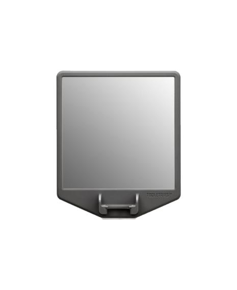 The Joseph   Mirror & Razor Holder - Charcoal