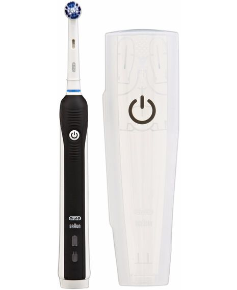 PRO 1000 Black Electric Toothbrush