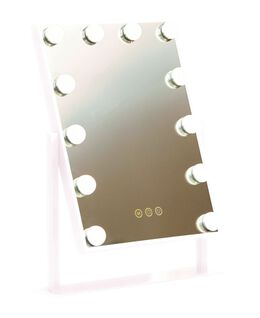 LED Vanity Mirror - White Gloss