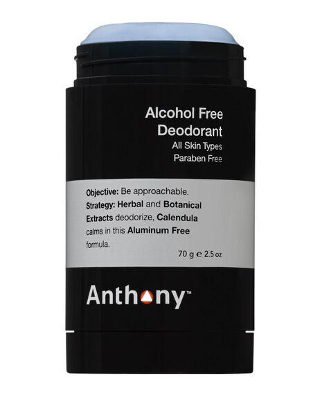 Deodorant Alcohol Free 70g