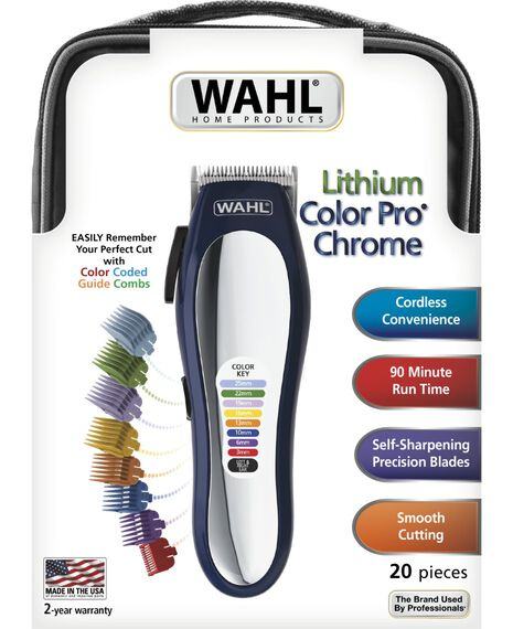 Colour Pro Lithium Chrome Clipper
