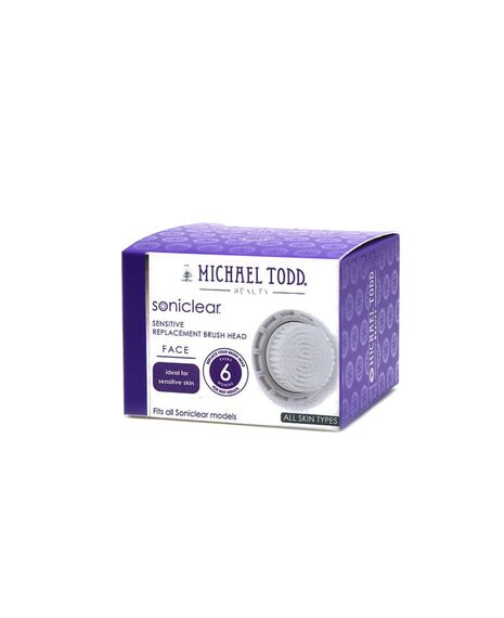 Soniclear Antimicrobial Face Brush Delicate Sensitive