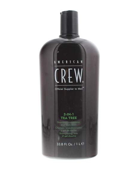 3-in-1 Tea Tree Shampoo, Conditioner and Shower Gel 1L