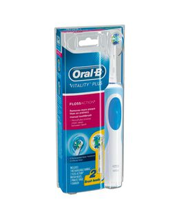Vitality Plus Floss Action Electric Toothbrush