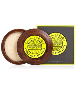 West Indian Lime Shave Soap & Bowl