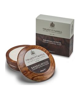 Sandalwood Luxury Shaving Soap in Wooden Bowl - 99g