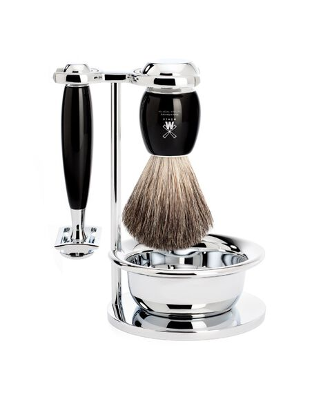 Vivo 4 Piece Razor Set - Resin | Tuggl