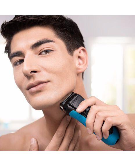 Series 3 ProSkin 3040s Wet/Dry Electric Shaver Blue