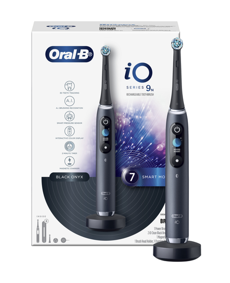 iO9 Electric Toothbrush with Travel Case