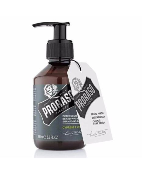 Beard Wash Cypress & Vetiver - 200ml