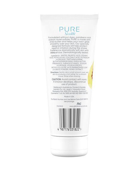 Pure Manuka Honey & Vanilla Shave Cream 174g