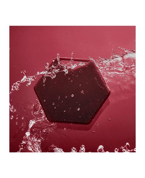 The Silicone Body Scrubber | Burgundy