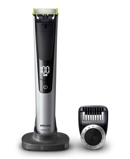 OneBlade PRO Handle with Adjustable Comb & Digital Display