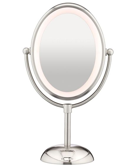 Reflections LED Mirror - Satin Nickel