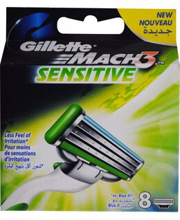 Mach 3 Sensitive 8 Pack Blades