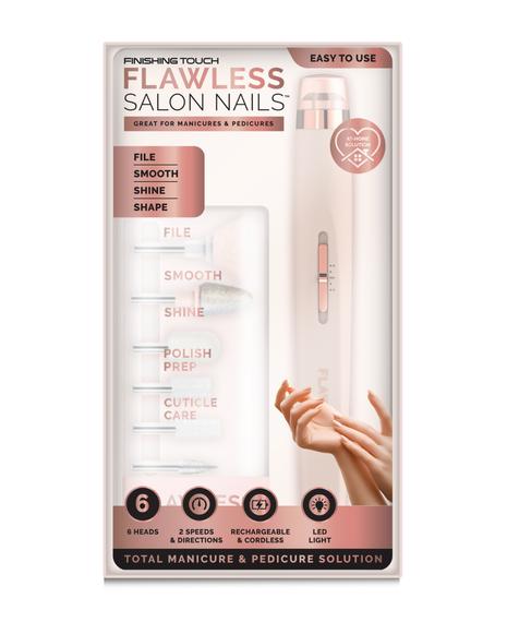 Salon Nails Mani-Pedi Nail Care System