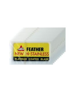 Feather Safety Razor Blades Tower