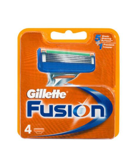 Fusion 4 Pack Blades