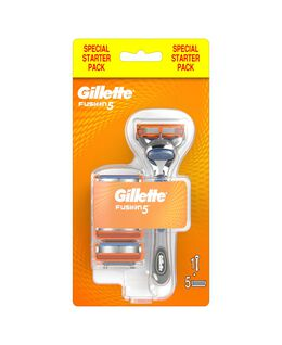 Fusion5 Razor with Blades Refill 5 Pack