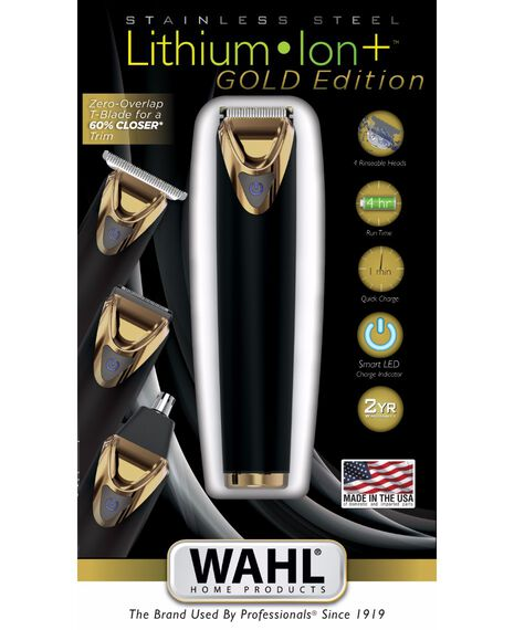 Stainless Steel Lithium Ion Gold Trimmer - Limited Edition