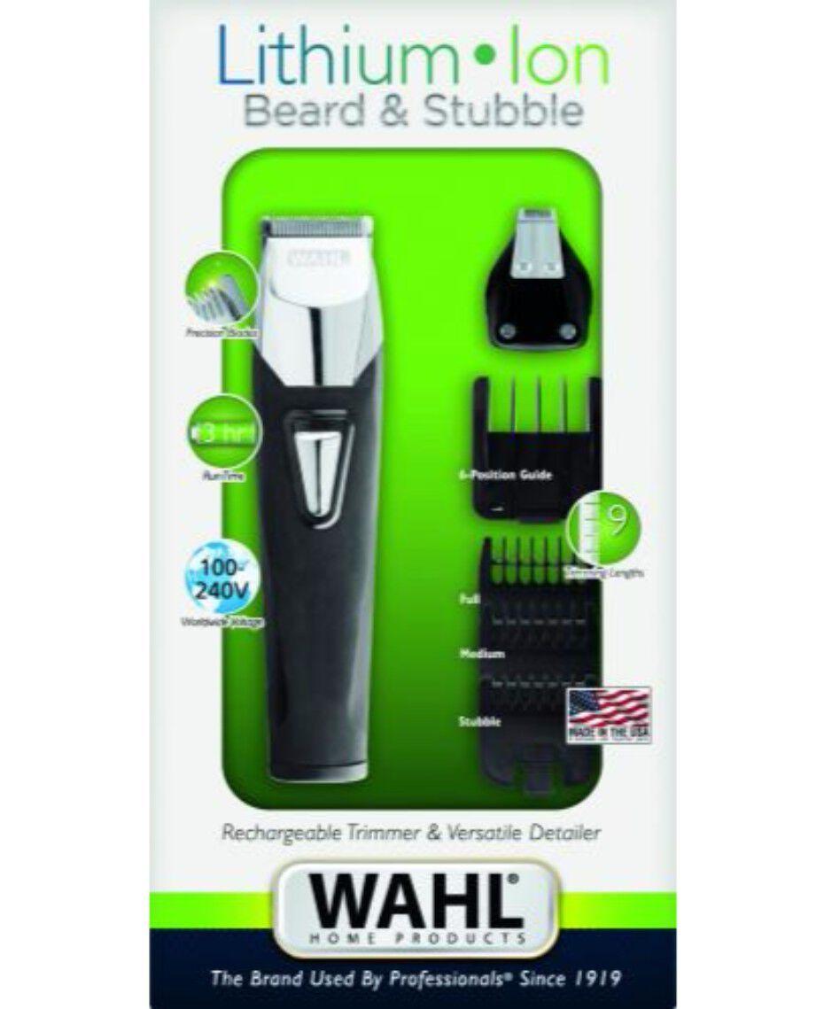 wahl lithium ion goatee beard trimmer shaver shop. Black Bedroom Furniture Sets. Home Design Ideas