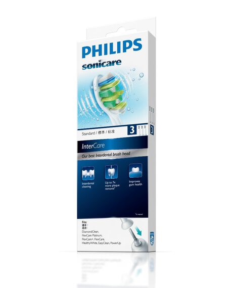 Intercare Toothbrush Heads - 3 Pack