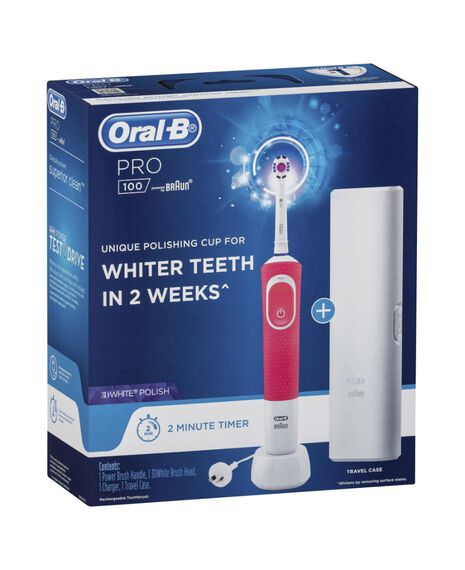 Pro100 3D White Electric Toothbrush
