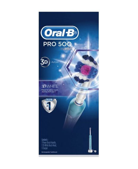 Pro 500 3D Whitening Electric Toothbrush