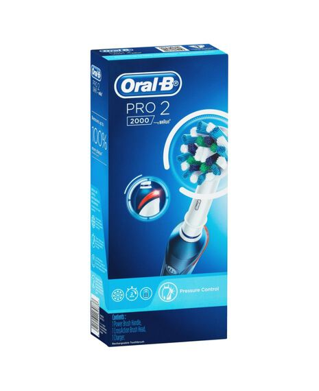 Pro 2000 Electric Toothbrush, Dark Blue