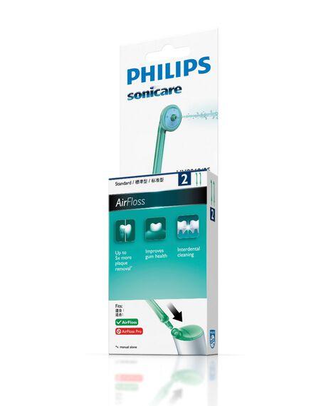 Airfloss 2 Pack Toothbrush Heads