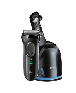 Series 3 ProSkin Washable Electric Shaver Black with Clean&Charge Station