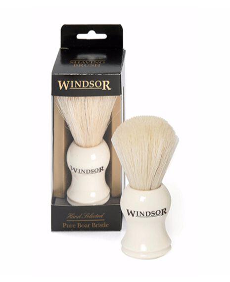Pure Boar Shave Brush - White