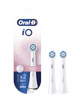 iO Gentle Care Replacement Brush Heads 2 Pack - White