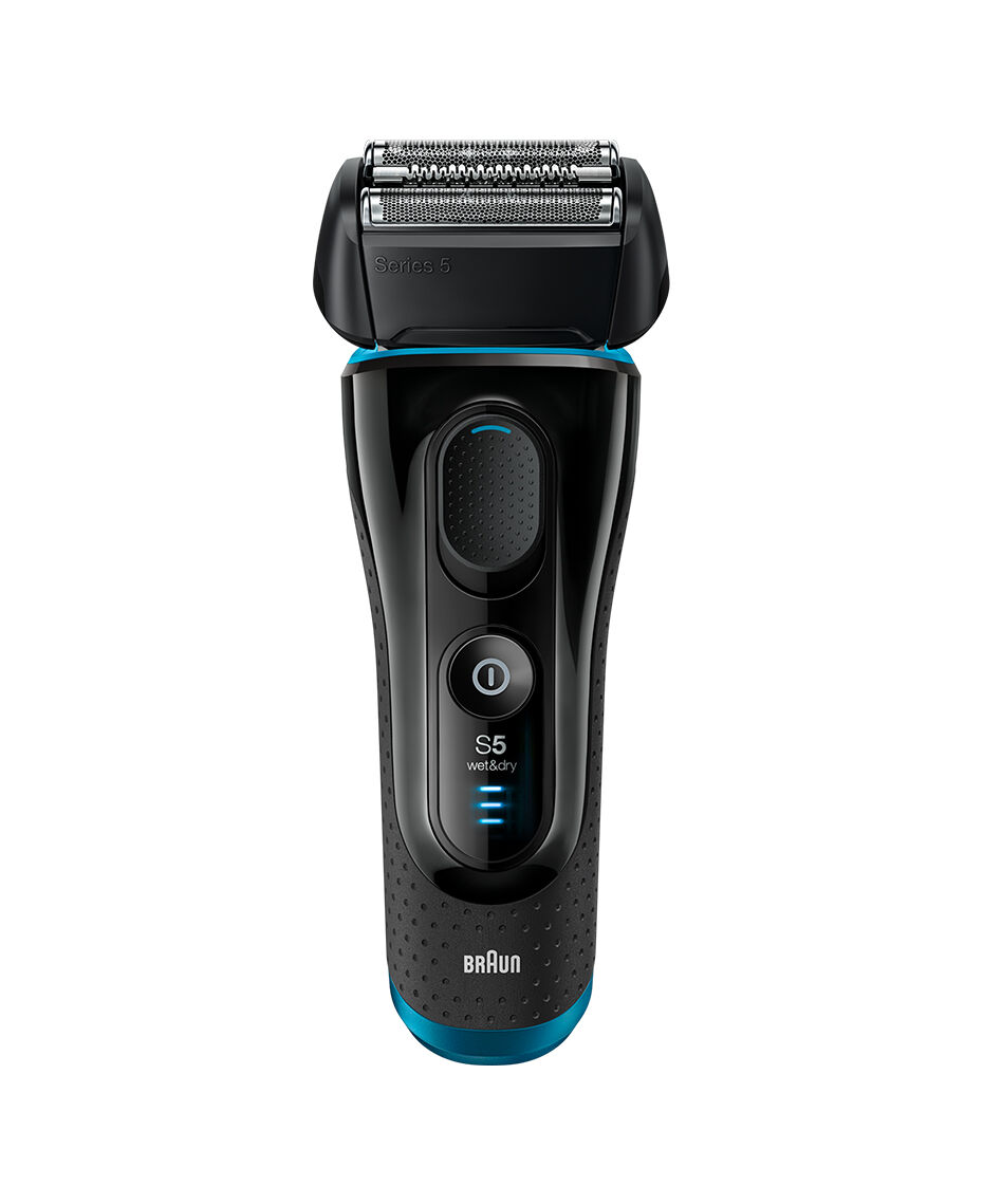 braun series 5 wet dry electric shaver black with pop up. Black Bedroom Furniture Sets. Home Design Ideas