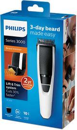Beardtrimmer Series 3000 Beard & Stubble Trimmer White