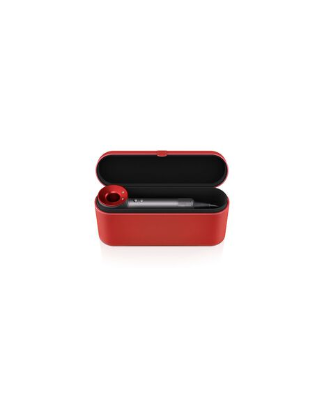 Supersonic Hair Dryer Iron Red with Red Case