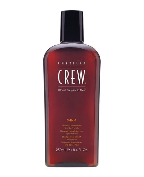 3-in-1 Shampoo, Conditioner and Shower Gel 250mL