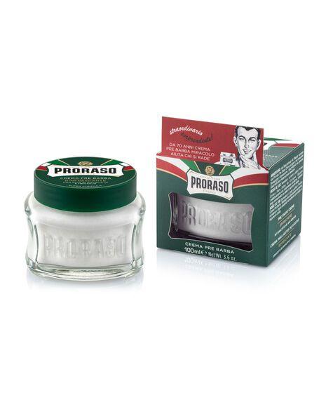 Refresh Pre-Shave Cream Eucalyptus & Menthol - 100ml
