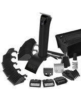 Stainless Steel Superior Performance Lithium Ion Plus Black Beard Trimmer