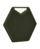 The Silicone Body Scrubber   Green