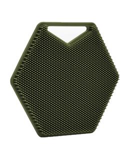 The Silicone Body Scrubber | Green