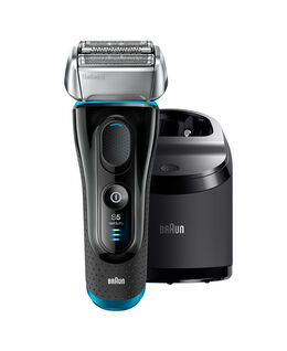 Series 5 Wet/Dry Electric Shaver Silver/Black Plus Clean & Charge Station