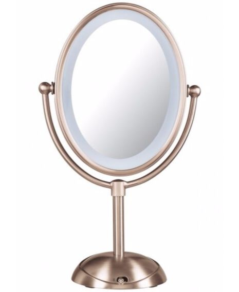 Reflections Led Lighted Mirror - Rose Gold