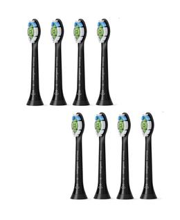 Sonicare W2 Optimal White Standard Brush Heads 8pk - Black